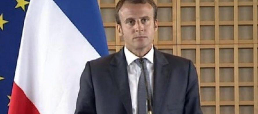 Macron reporta tres muertos y 16 heridos en atentado en Francia
