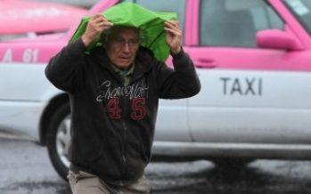 Prevén lluvias fuertes y caída de granizo en la Ciudad de México