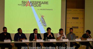 Teatro en el Parque, la magia y esencia del teatro isabelino por primera vez llega al Museo Tamayo