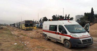 Más de 1500 armados salen de Ghouta hacia Idleb