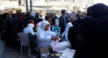 Brindan servicios médicos gratuitos a civiles en Ghouta