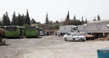 Terroristas impiden salida de los civiles de Ghouta Oriental