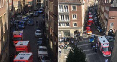Tres muertos y 30 heridos, por atropellamiento en Münster