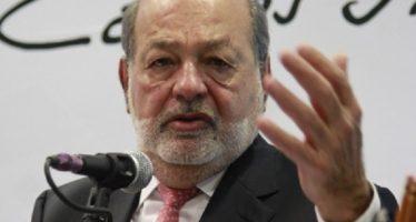 Cancelar NAIM suspendería crecimiento de México: Slim
