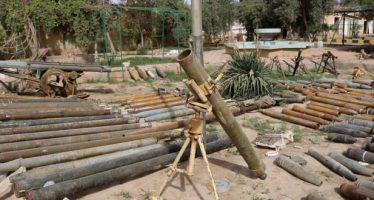 Hallan en Deir Ezzor almacenes de Daesh con armas