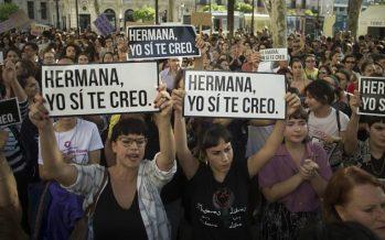 España vive tercer día de protestas contra sentencia por violación