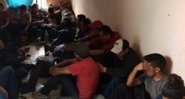 Federales rescatan a 36 migrantes en Tabasco
