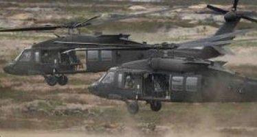 Helicópteros estadounidenses evacúan a cabecillas de Daesh