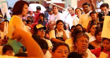 Inicia campaña candidata del PANAL al gobierno capitalino