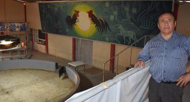 """Jorge Maluna inaugura mural """"Encuentro de Dos Culturas"""""""