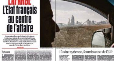 Lafarge trabajaba en Siria para los servicios secretos franceses