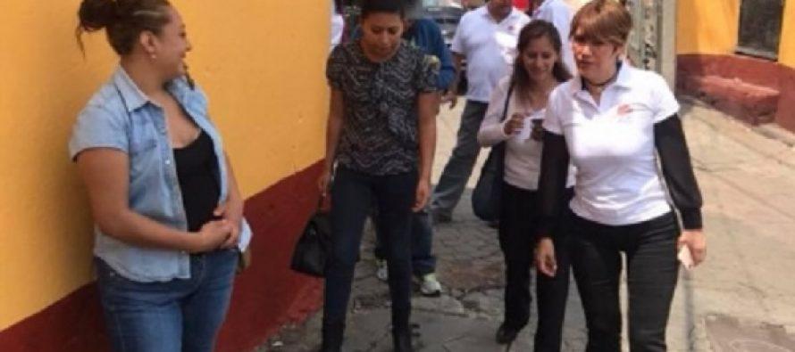 Lorena Osornio promete mejoras para adultos mayores