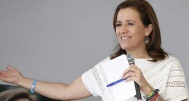 Zavala plantea una Presidencia que comprenda y escuche