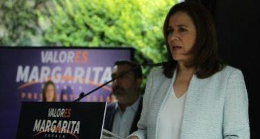 Margarita Zavala promete regresar la seguridad a Tierra Caliente