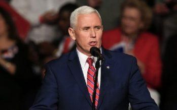 Pence llama al Congreso a invertir $8.000 millones en seguridad espacial