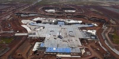 Nuevo Aeropuerto no se puede detener profesionales inmobiliarios. (NOTIMEX)