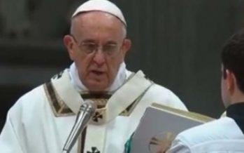 Papa Francisco pide la libertad para todos los secuestrados