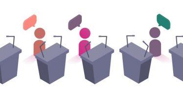 Avanza cuenta regresiva para primer debate