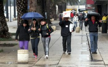Llueve en al menos tres delegaciones de la CDMX