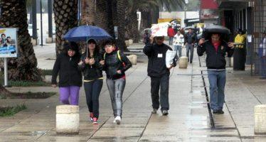 Llueve en al menos tres delegaciones capitalinas