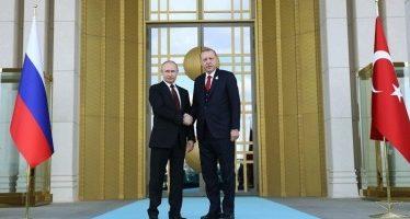 Putin y Erdogan inauguran obras para la primera central nuclear