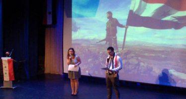 Se celebra velada al concluir eventos de semana cultural siria