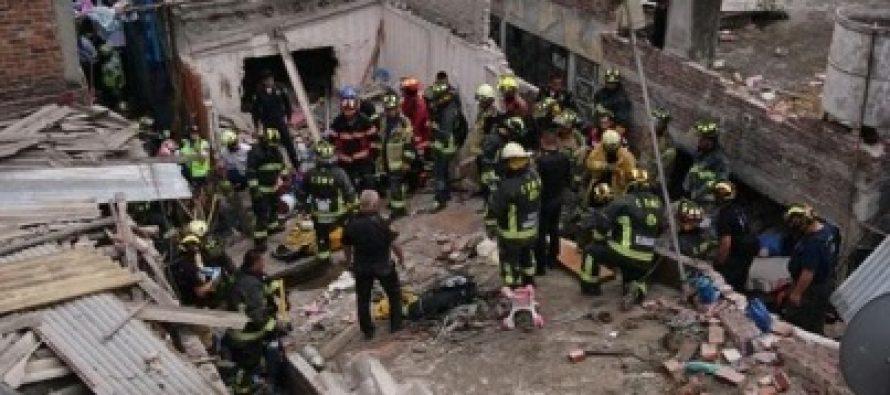 Van 10 lesionados por explosión en Delegación Iztacalco