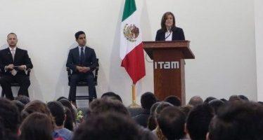 Zavala se reúne con estudiantes de Instituto Tecnológico de México