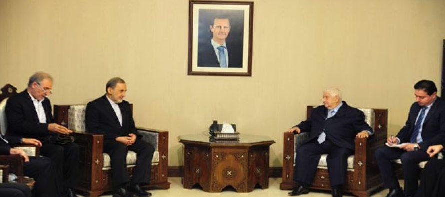 Acuerdan intensificar la coordinación entre Siria e Irán