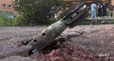 Daños materiales en ataques terroristas contra Damasco