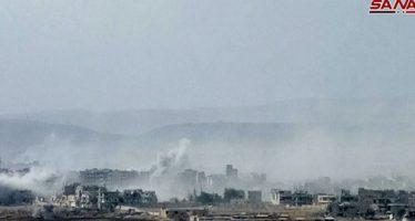Ejército avanza contra los terroristas en el sur de Damasco