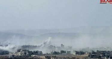 Ejército continúa bombardeos contra Yarmuk y Hayyar Asswad