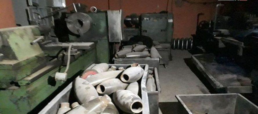 Unidades de fuerzas de Seguridad Interna hallan fábrica de morteros