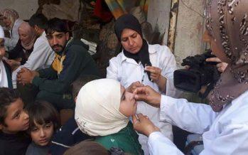 Ministerio de Salud aplica vacunas a los niños de Duma