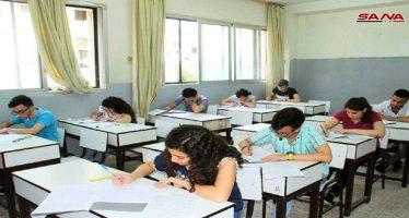Estudiantes inician sus exámenes finales de la fase preuniversitaria