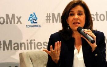Asegura Margarita Zavala que seguirá en la política