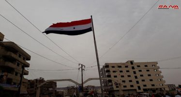 Masiva concentración popular para celebrar la liberación en Damasco