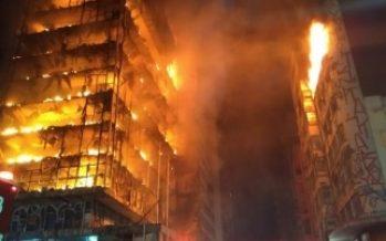 Derrumbe de edificio en Sao Paulo deja más de 50 desaparecidos