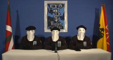 ETA anuncia final definitivo, pero reitera necesidad de Estado Vasco