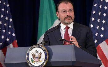 México reprueba medidas proteccionistas de EE.UU.