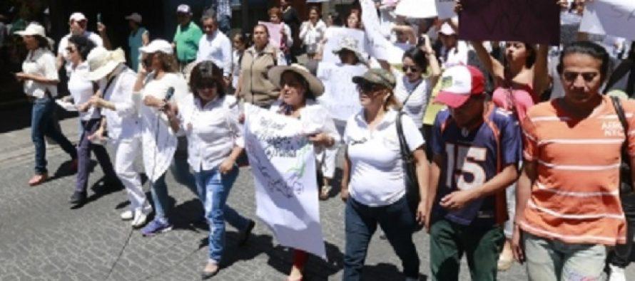 Concluyen marchas de maestros sin incidentes
