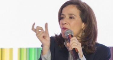 Margarita Zavala se pronuncia por defender la reforma educativa