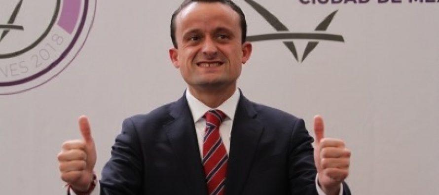 Mikel Arriola ofrece cambiar el caos por orden en la CDMX