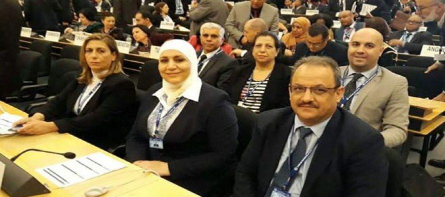 al-Qadiri sostiene reuniones al margen de la 107ª reunión de la Conferencia Internacional del Trabajo