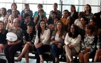 Mujeres de Por México al Frente anuncian que buscarán a Zavala