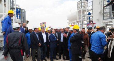 Inaugura primera fase del proyecto de gas de Damasco