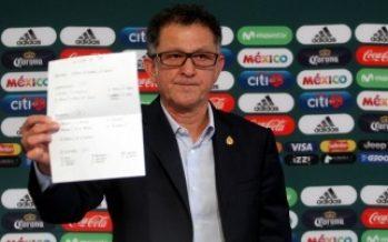 """Osorio da a conocer lista preliminar del """"Tri"""" para Rusia 2018"""