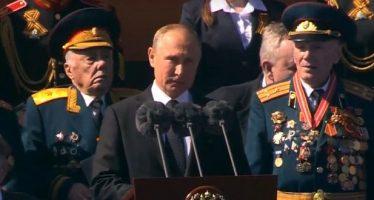 Rusia celebra el Día de la Victoria en la Plaza Roja