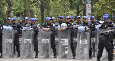 Policía cierra circulación en calles del Centro Histórico