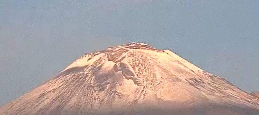 Popocatépetl emite 68 exhalaciones de baja intensidad